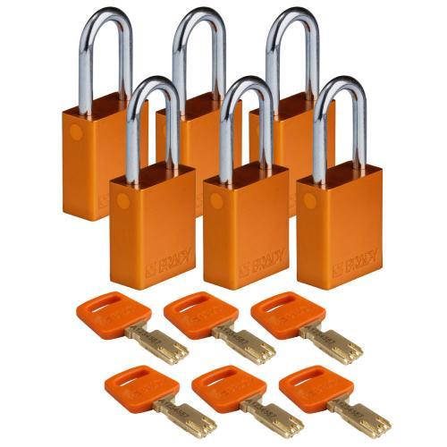 Safekey Aluminium Padlocks