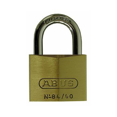 padlock - Brass with medium hardened steel shackle - pk of 6