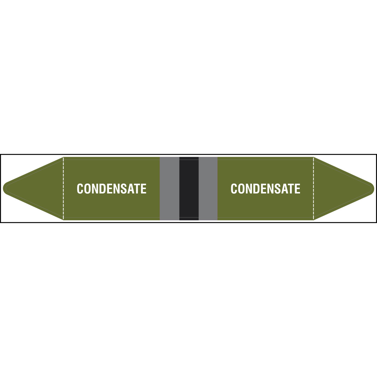 BS Pipe Marker - Condensate