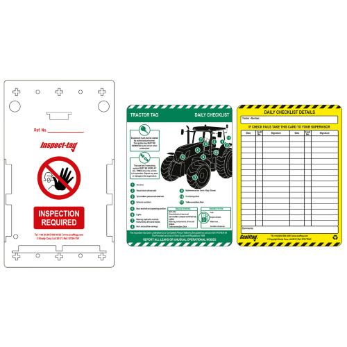 Tractor Tag Inspection Kit