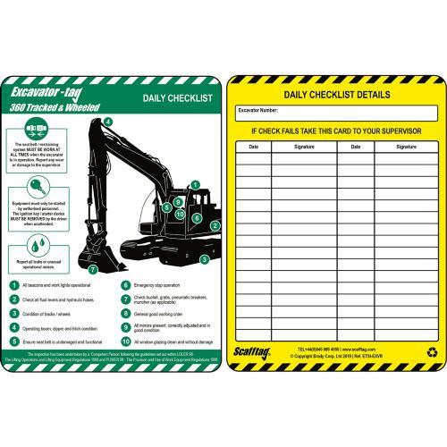 Excavator Inspection Inserts