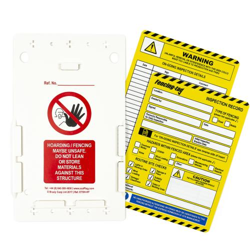 Fencing Inspection Tag Kit