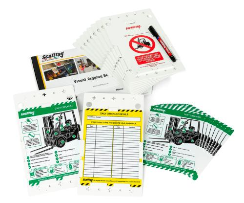 Forklift Tag Inspection Kit