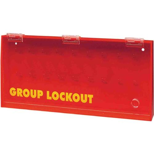 Acrylic Wall Mounted Group Lockout Box