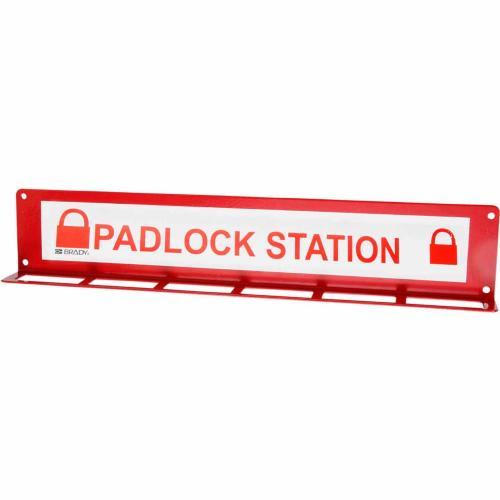 Large Padlock Station