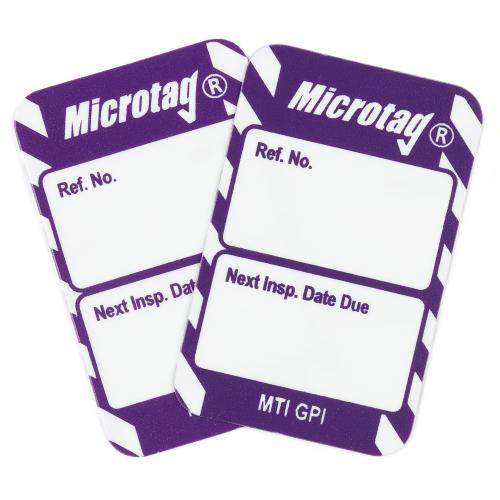 Microtag 'Next Inspection Date' Inspection Insert