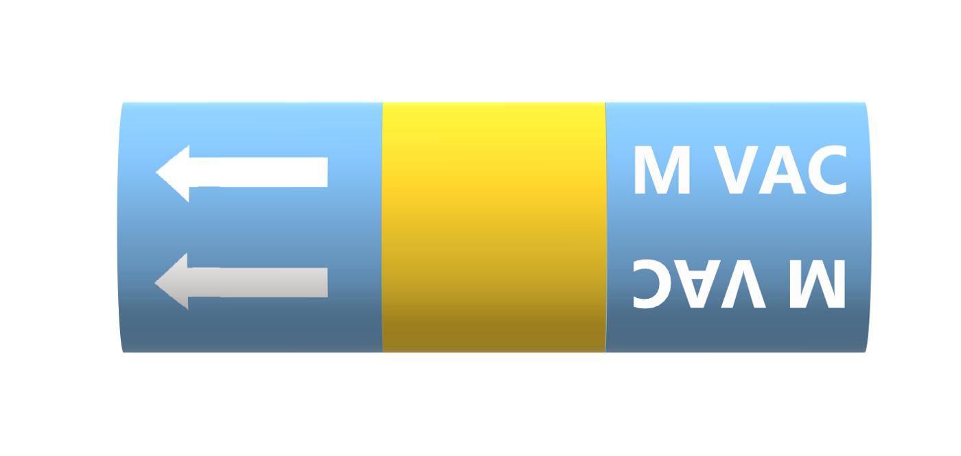 BS Pipe Marker - Medical - Medical Vacuum