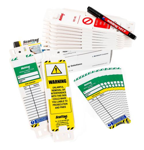 Weekly Inspection Tag Kit