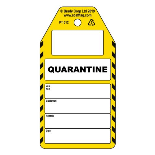 Quarantine Tags