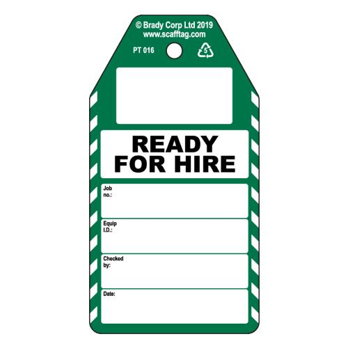 Ready For Hire tags