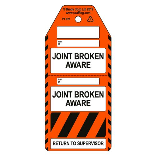 Joint Broken Aware Tag - 2 Part