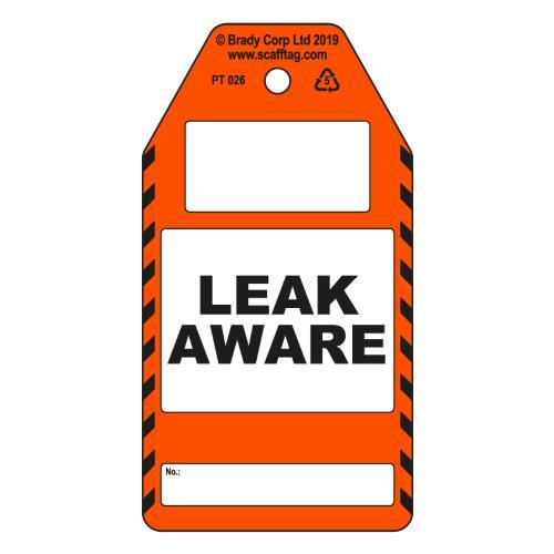 Leak Aware Tags