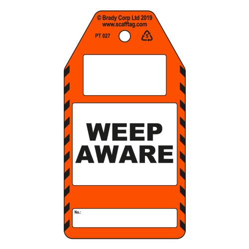 Weep Aware Tags
