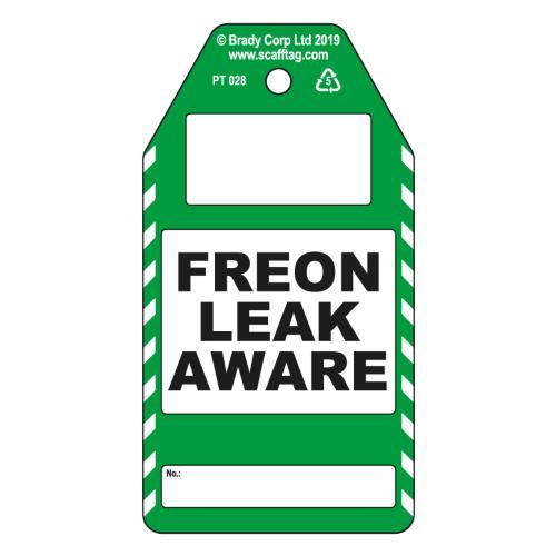 Freon Leak Aware Tags