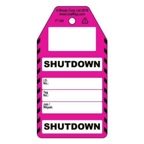 Shutdown Tag