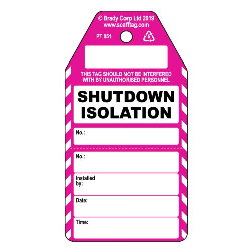 Shutdown Isolation