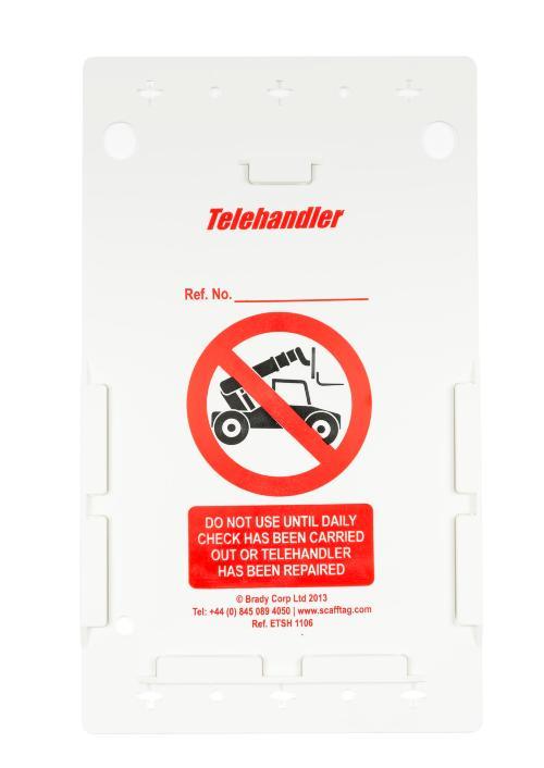 Telehandler Inspection Holder Kit