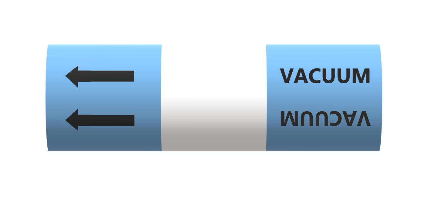 BS Pipe Marker - Air - Vacuum