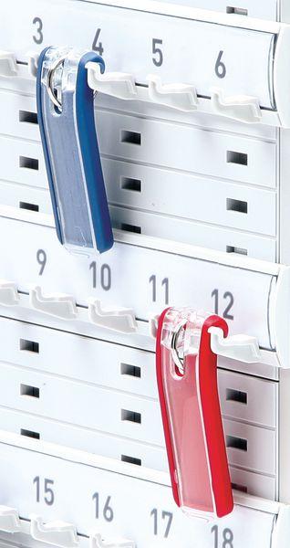 Executive Aluminium Key Cabinets - Key Clips