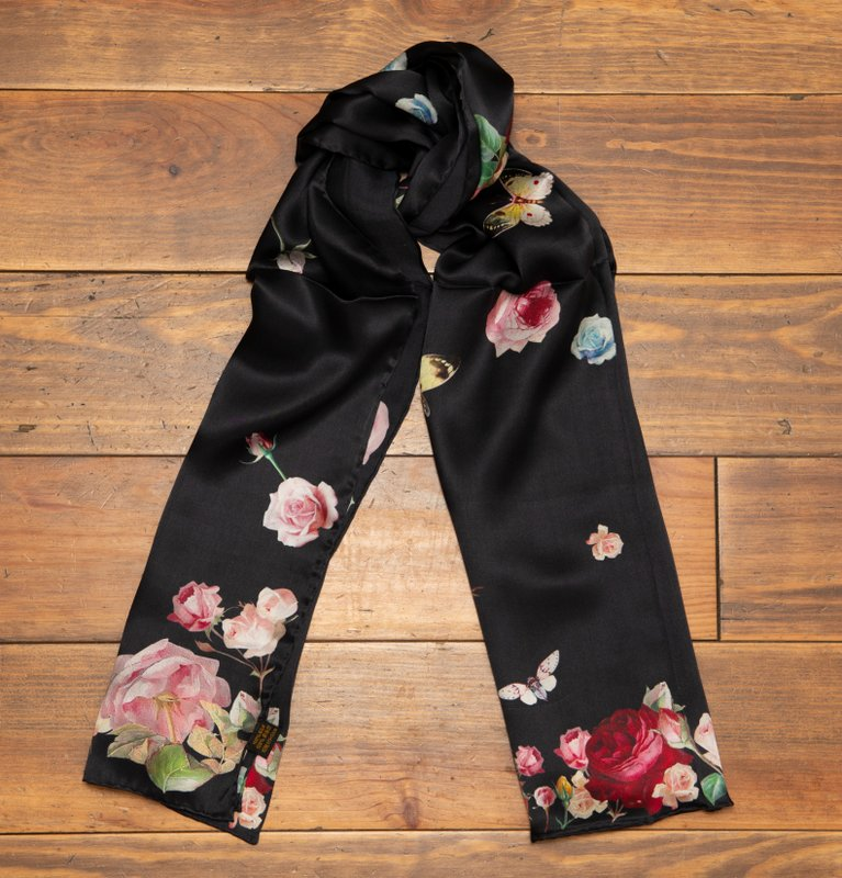 Roses Silk scarf