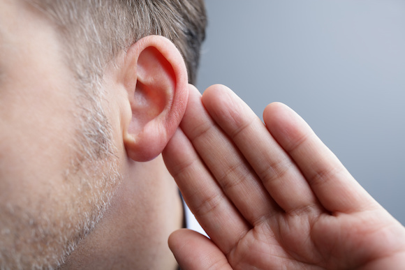 Hearing Loss Hearing loss occurs when sound waves are unable to pass into the middle and inner ear.