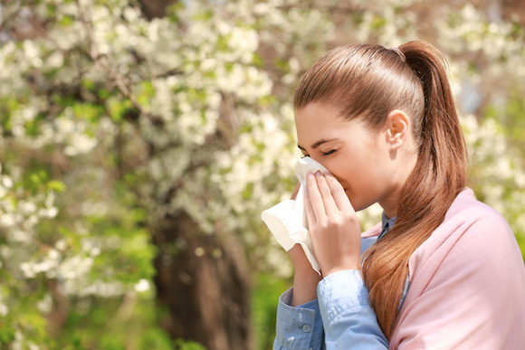Rhinitis and Nasal Allergy Inflammation of the nasal mucosa lining, which causes cold-like symptoms, sneezing, itchy eyes and nose, and a blocked or runny nose.
