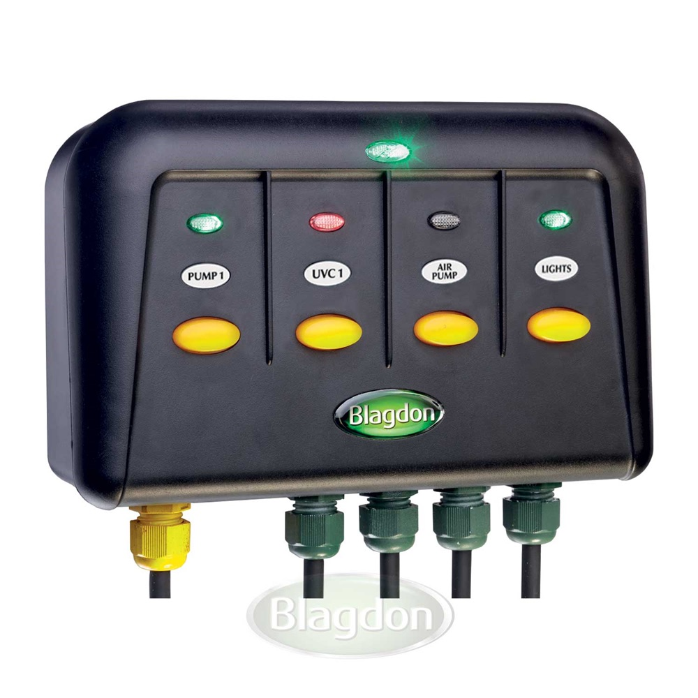 Blagdon Powersafe Switchbox 4 Way Outlet