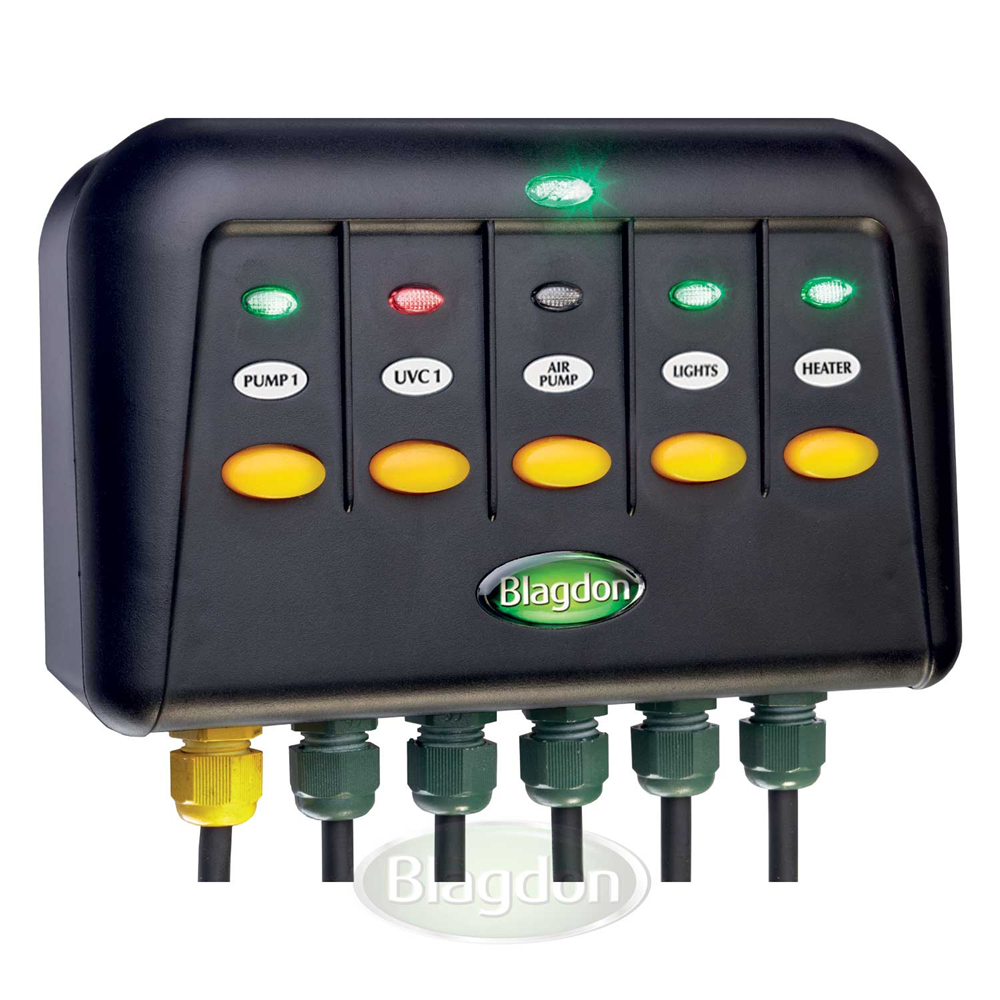 Blagdon Powersafe Switchbox 5 Way Outlet