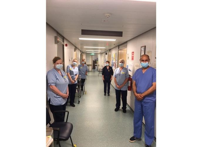 ZOOM Choir Performance from Paisley Opera to Thank NHSGGC Staff A member of the Paisley Opera has thanked NHS staff by organising an operatic rendition of Easter Hymn using Zoom