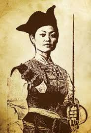 Ching Shih - From Poverty to Pirate Born into poverty and forced to work in a brothel, this formidable woman became the leader of the largest pirate fleet in the world, even bending the Emperor of China to her will