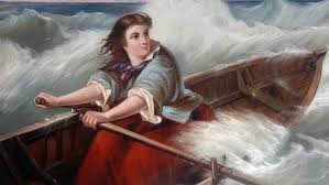 Grace Darling - Victorian Heroine In 1838 an unassuming young woman shot to fame for her heroics after a passenger ship was smashed to pieces off the north-eastern coast of England.