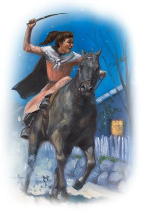Sybil Ludington - An American Hero Paul Revere is famous for riding through the night to warn American rebels about approaching British troops. But less is known about Sybil Ludington, a teenage girl who replicated the feat