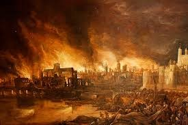 The Great Fire of London London's burning! 