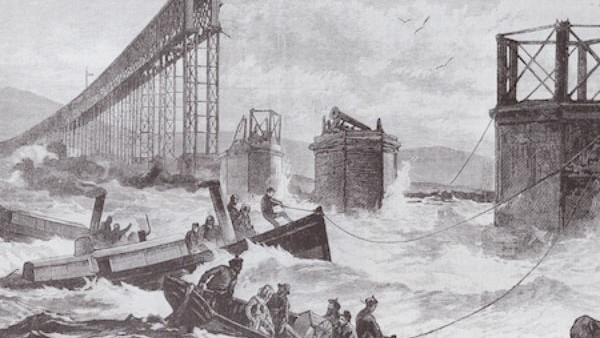 The Tay Bridge Collapse - Disaster on a Victorian Railway On a stormy night in December 1879, a bridge that had been considered one of the engineering marvels of the world collapsed, sending over 70 people to a cold and watery grave