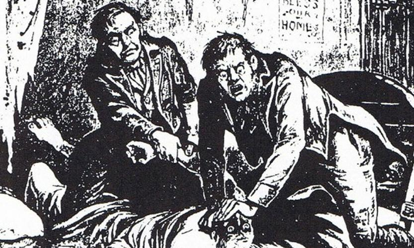 The Burke and Hare Murders In an age where curiosity about the human body meant that 'gravedigging' fresh corpses from their resting places was a common and lucrative trade, the two men had decided to produce their own corpses for considerable profits.