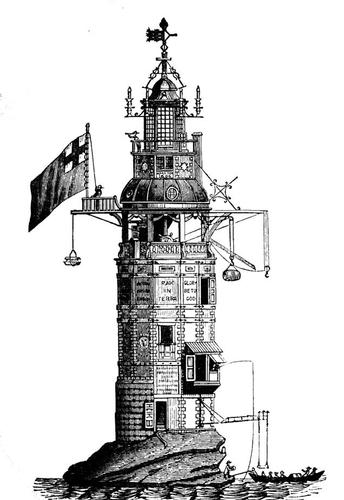Henry Winstanley and the Lighthouse at Eddystone A colourful inventor was so proud of his lighthouse in the English Channel that he vowed to spend the night there. He was never seen again