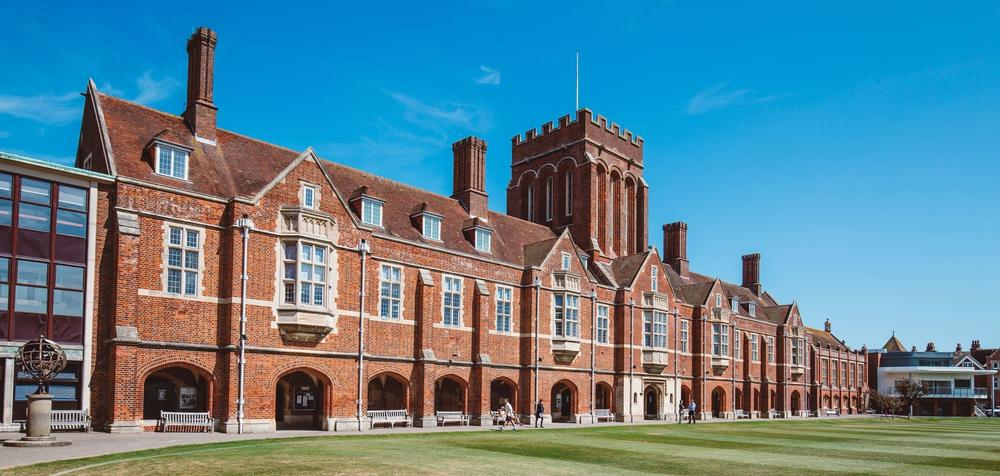 Eastbourne College Eastbourne College is a prestigious co-educational independent boarding is situated in Eastbourne.