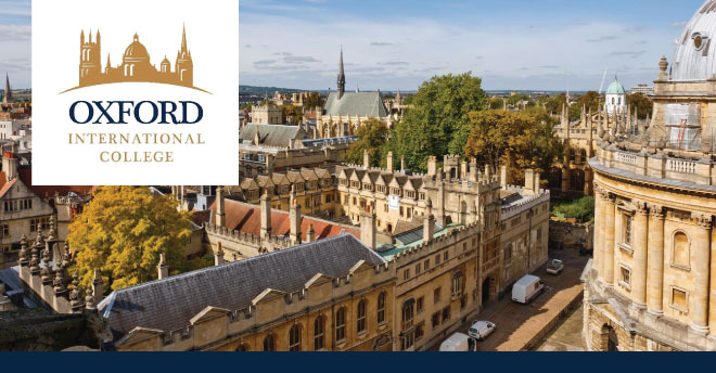 Oxford International College Oxford International College is Top Ranking College located in the heart of Oxford.