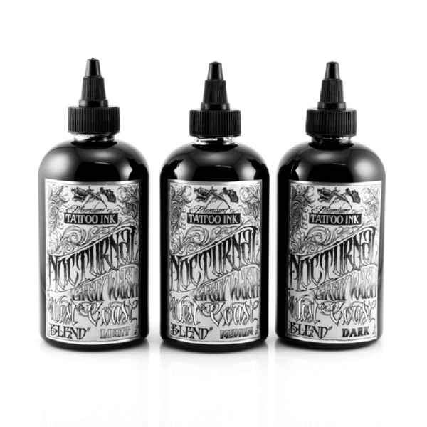 Nocturnal Tattoo Ink - West Coast Blend (Set of 3)