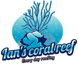 Ian's Coral Reef coral aquaculture live coral frags coral care products