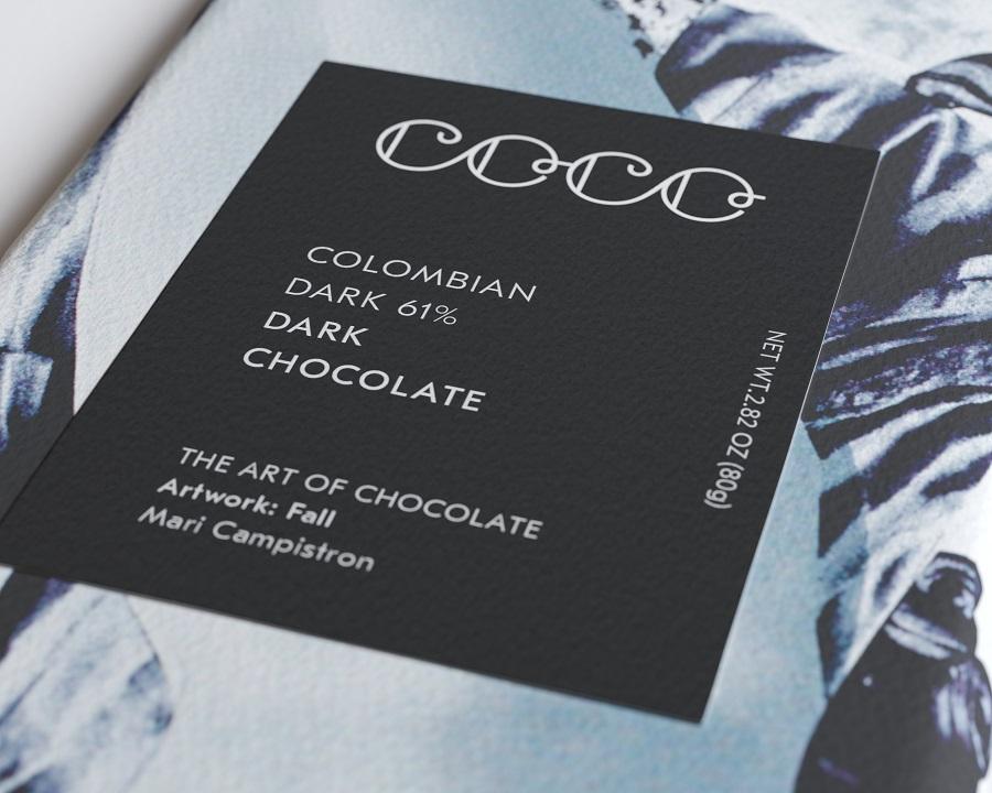 COCO Chocolatier - Dark Chocolate Bar