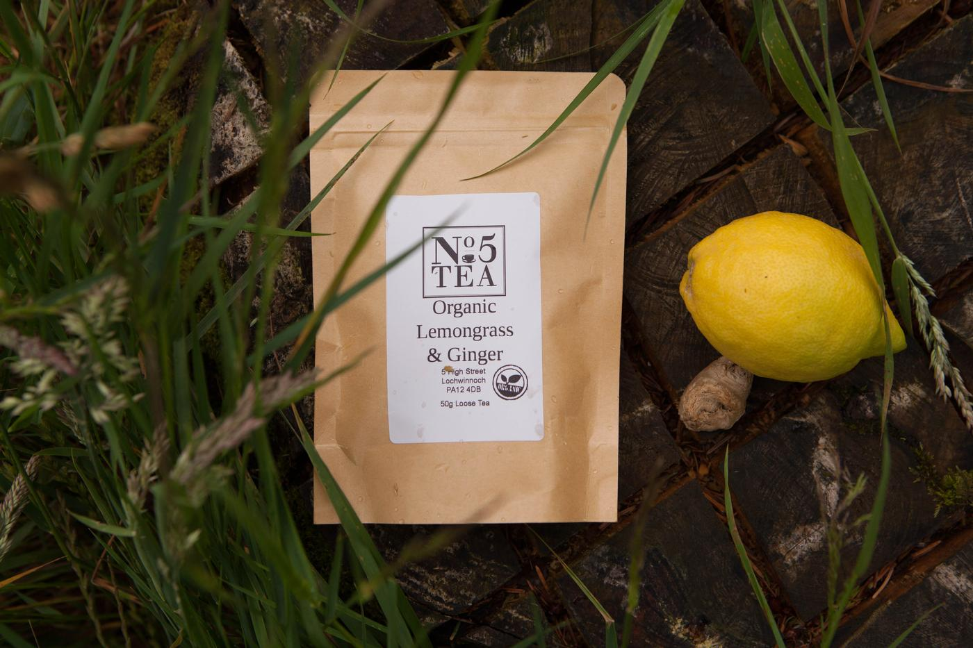 No. 5 Organic Lemongrass and Ginger