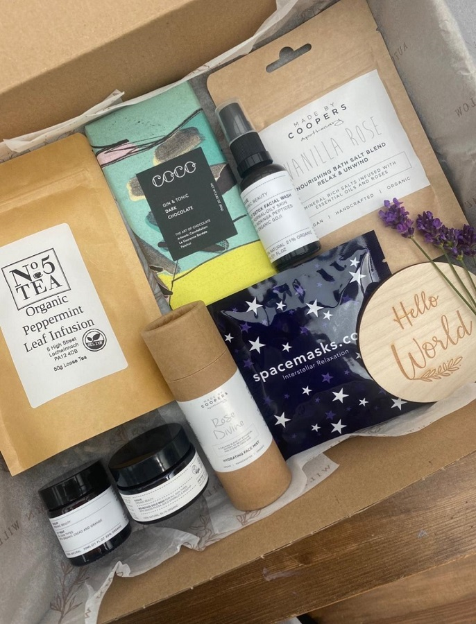 Pre-packed Gift Box - £65