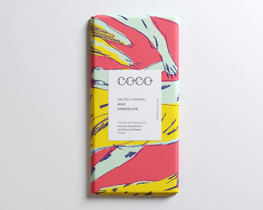COCO Chocolatier - Salted Caramel Milk Chocolate Bar