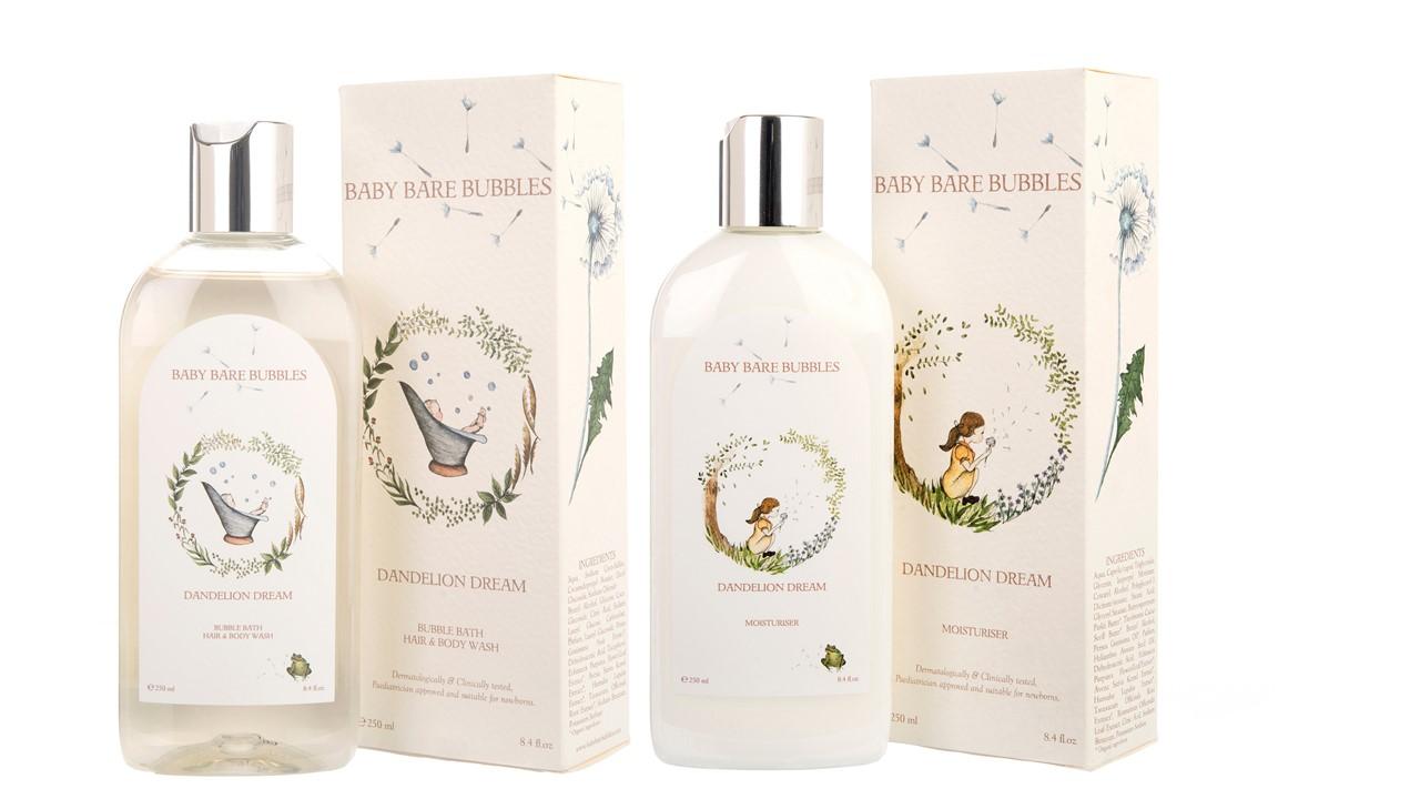 Baby Bare Bubbles Bath- Hair - Body Wash
