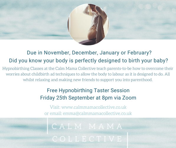 Free online hypnobirthing Taster session Free online hypnobirthing session based in Surrey