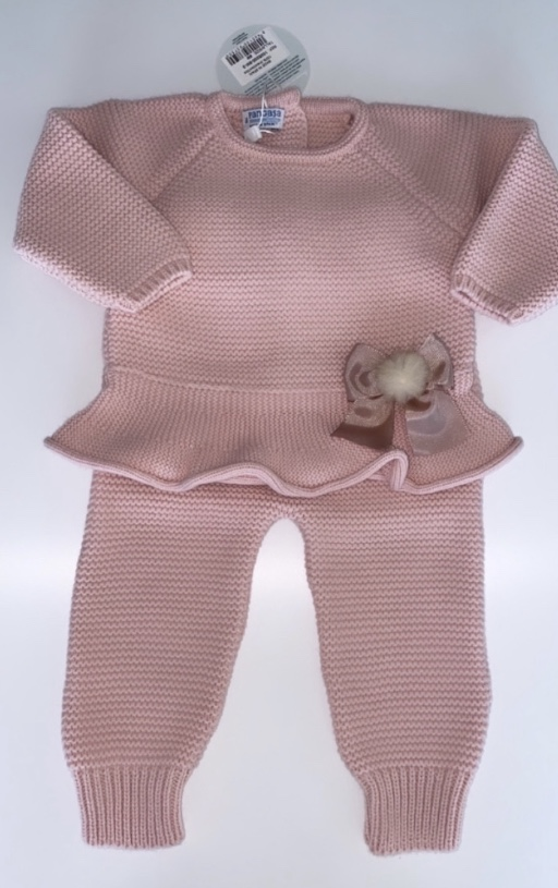 Pangasa Pink Frilly Set