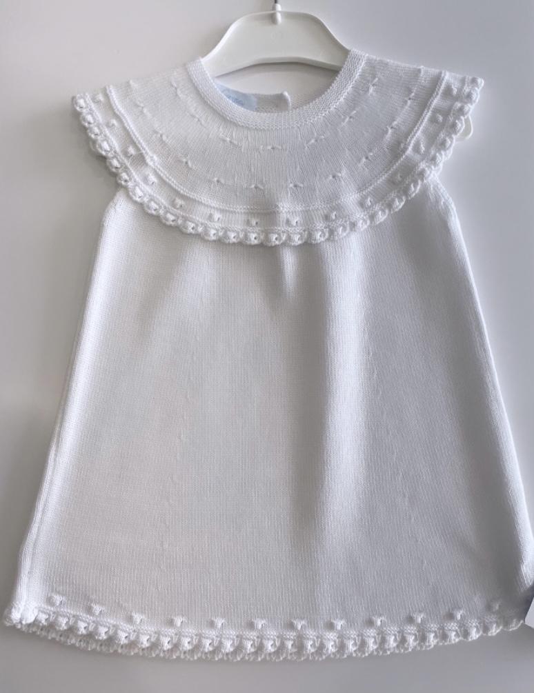 Granlei White Summer Embroided Dress