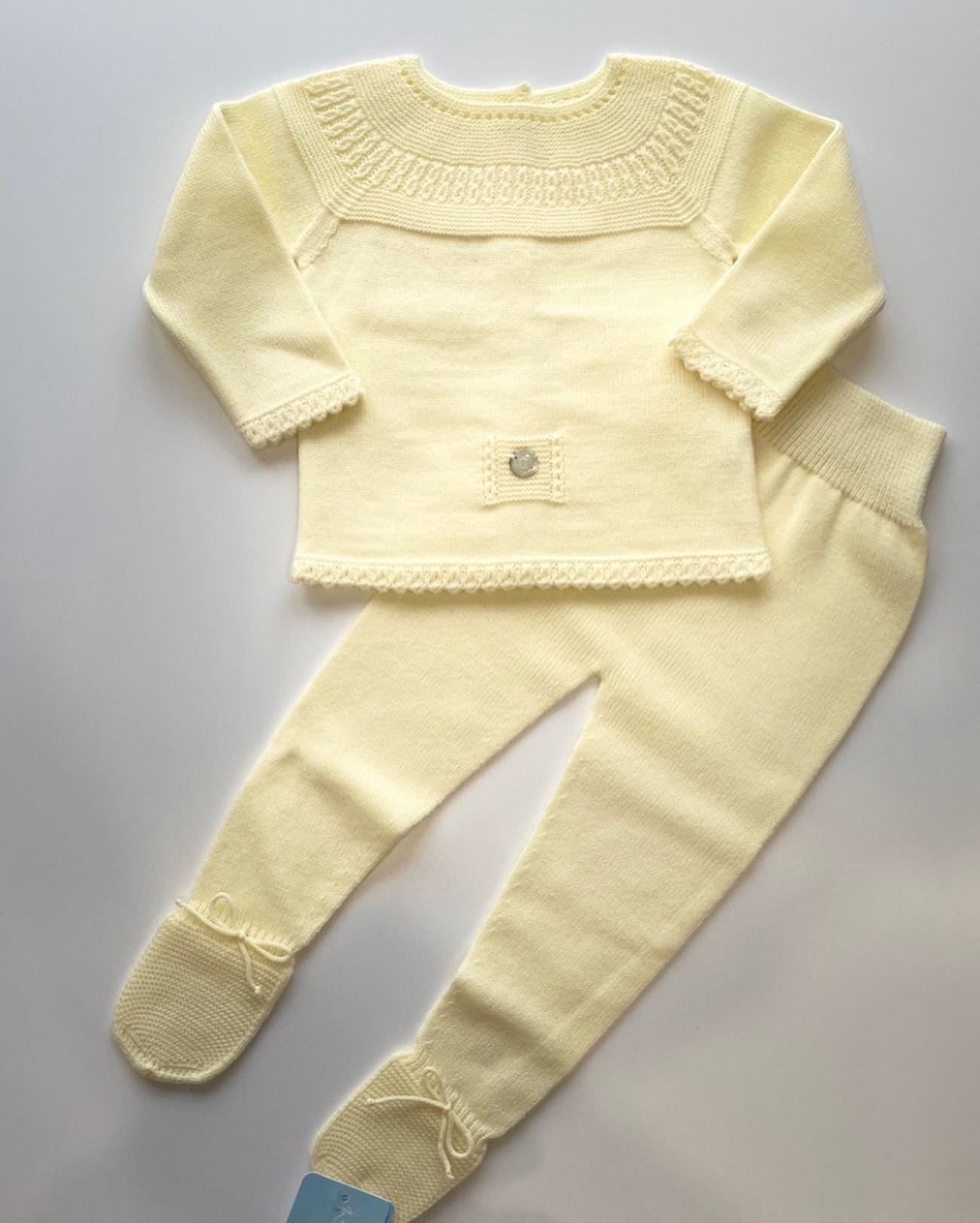 Artesania Granlei Lemon Knit Set