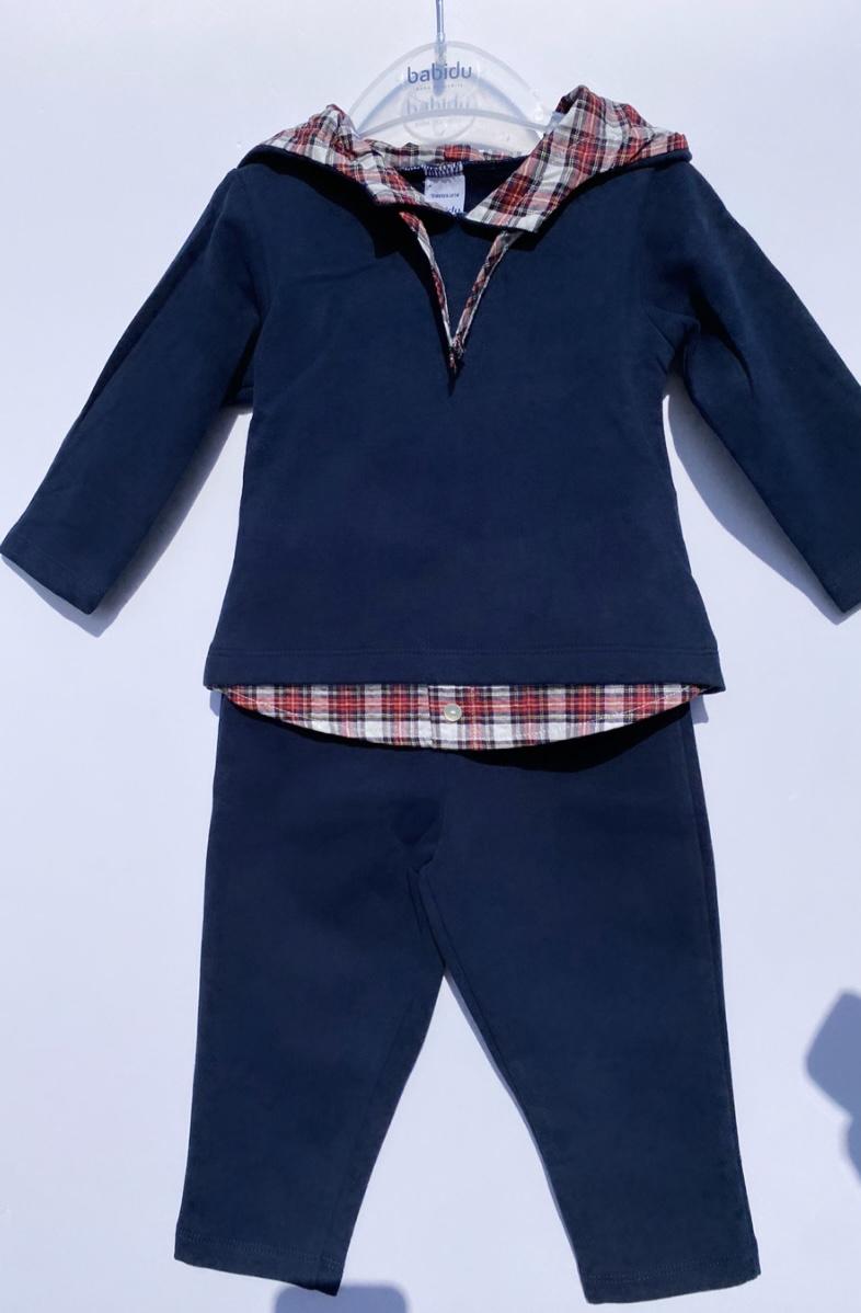 Babidu Tartan Boys Loungewear
